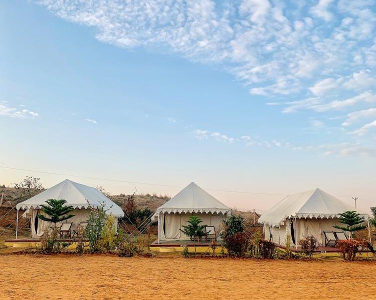 Okrągłe hale namiotowe